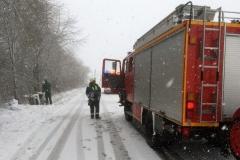 17.02.2018: Verkehrsunfall zwischen Rohr und Waal.